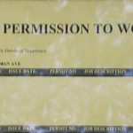 Permission to Work: show card